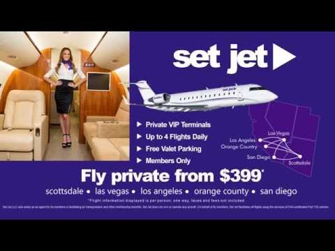 Set Jet - Private Jet Travel from $399 each way!