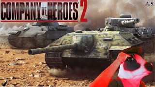 Achtung Panzers! - Company Of Heroes 2: The British Forces Soviet Gameplay