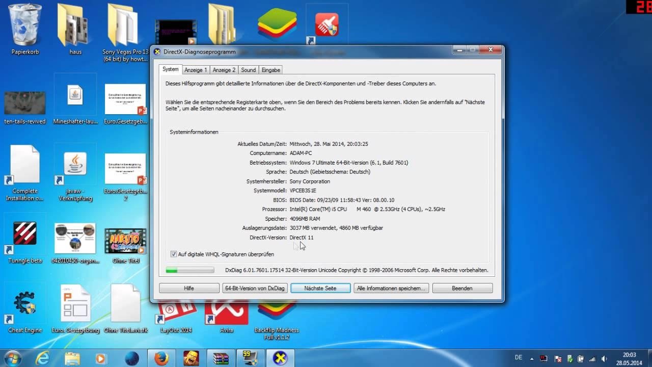 latest version of directx for windows 7 64 bit
