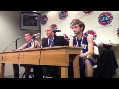 Billings state championship post game press conference