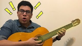 Toca guitarra sin saber tocar guitarra