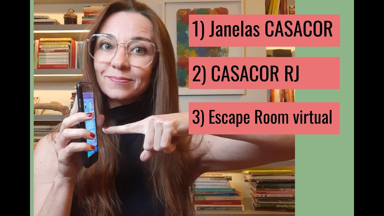 Janelas CASACOR, CASACOR RJ e Escape Virtual em Milão