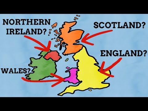 How Did The Countries Of The United Kingdom Get Their Names?