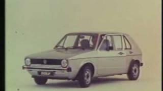 Historischer Werbefilm Volkswagen (VW) Golf I