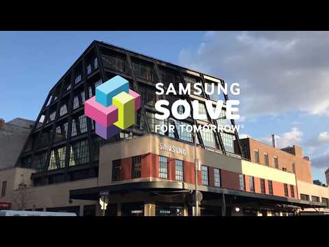 2018 Samsung Solve For Tomorrow Pitch Event