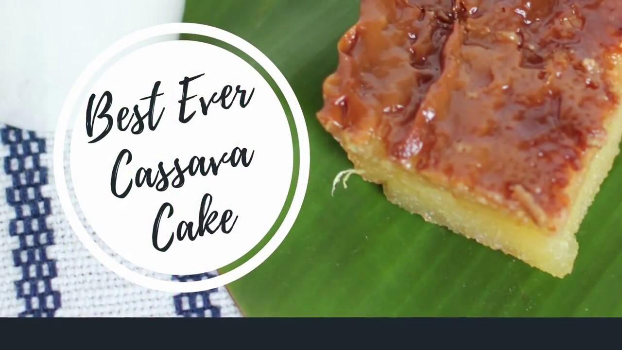 Cassava Cake Recipe Youtube