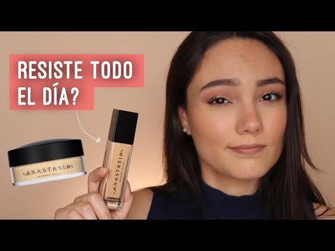 Nueva Base! ANASTASIA BEVERLY HILLS LUMINOUS FOUNDATION - Prueba de 8 horas | Alejandra Otero thumbnail