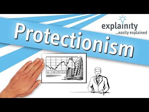 Protectionism easily explained (explainity® explainer video)