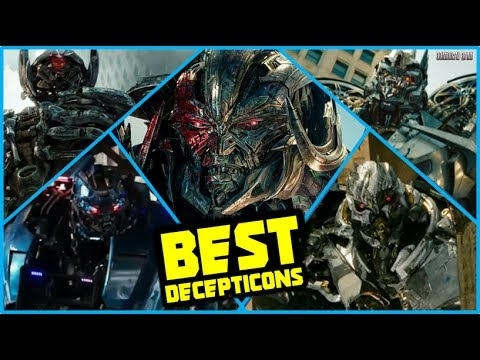 top best decepticons in transformers live action movies youtube. Black Bedroom Furniture Sets. Home Design Ideas