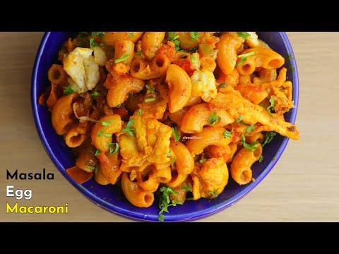 MASALA EGG MACARONI|Lock-Down Recipe|మసాలా ఎగ్ మాక్రోనీ|పిల్లలకి తక్కువ టైమ్ లో చేసే బెస్ట్ స్నాక్