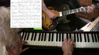 What A Wonderful World - guitar & piano jazz cover - Yvan Jacques