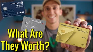 HOW MUCH Are American Airlines, United, & Delta Frequent Flyer Miles WORTH?