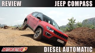 Jeep Compass Diesel Automatic Trailhawk Review | Hindi | MotorOctane