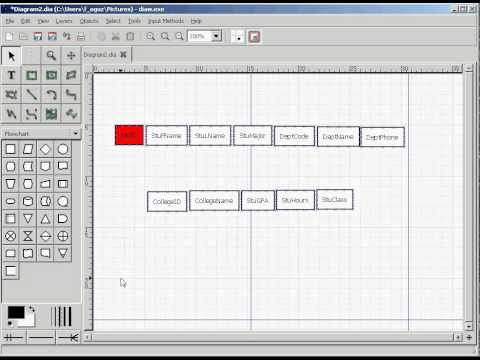 Functional Dependency Diagram 2006 Sebring Fuse Box How To Create With Dia Youtube
