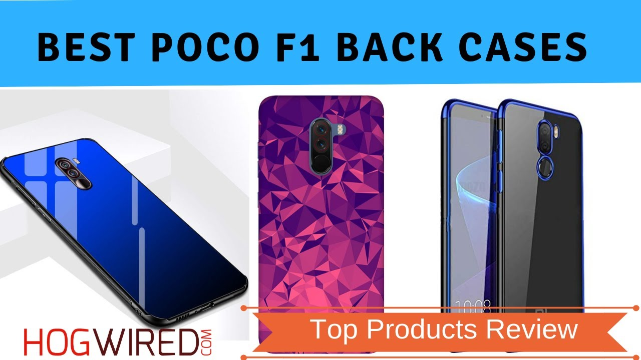 new product 7a819 0d977 10 Best Xiaomi Poco F1 Back Cases In India With Price | Top Quality Back  Covers