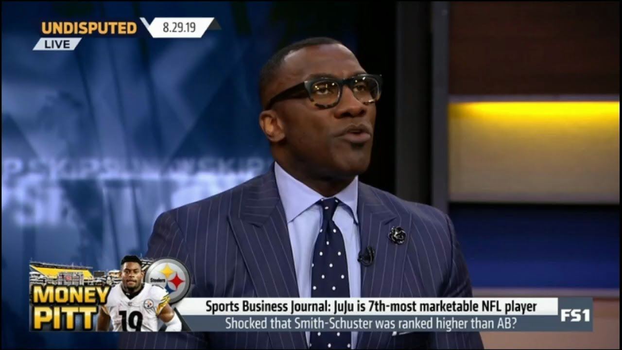 Undisputed | Shannon react to Sports Business Journal: JuJu is 7th-most marketable NFL player