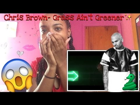 Chris Brown- Grass Ain't Greener MV Reaction