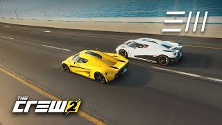 The Crew 2 - Koenigsegg Regera vs Agera R | Which is the Fastest Hypercar from Detroit to Miami?