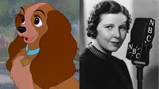 Lady and the Tramp (1955) Voice Actors Cast and Characters
