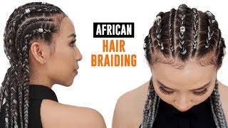 Getting My Hair Braided For The First Time