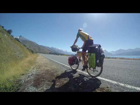 New Zealand cycling trip