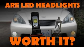 LED Headlight & Foglight Review(Are LED headlights or foglights worth the upgrade? Do they really produce more light than halogen light? Will I get better light output from my stock housings?, 2015-11-28T03:22:03.000Z)
