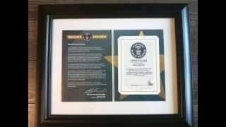 Easiest Guinness World Record - How to get a Guinness Record