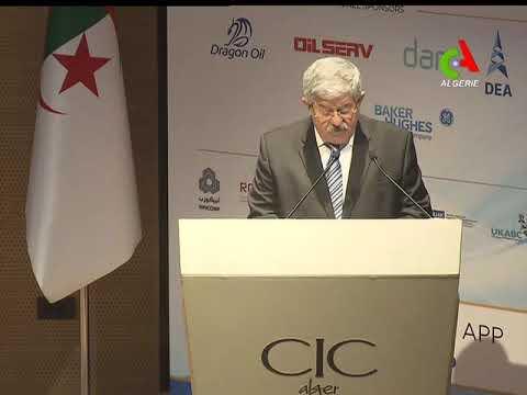 """Ce qu'a dit Ouyahia en dehors  des travaux du Sommet """"Algeria Future Energy"""""""