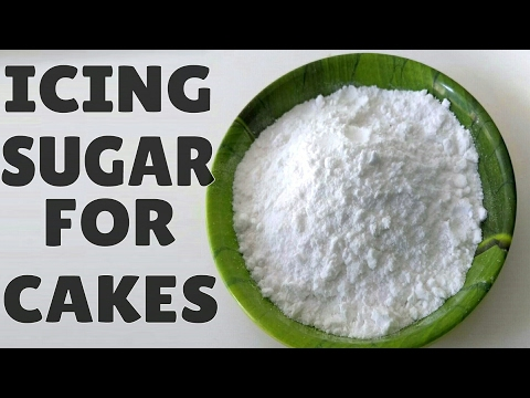 Icing Sugar Recipe In Hindi  Cfectiers Sugar Icing Sugar Recipe for Cakes।