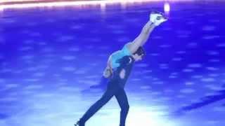 "Art on ice 7.2.2015 - Tatiana Volosozhar & Maxim Trankov ""Stars"""