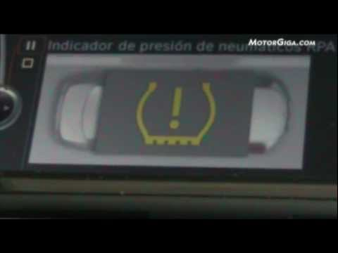 bmw serie6 video indicador presion neumatico