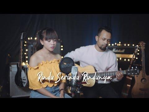 RINDU SERINDU RINDUNYA - SPOON ( Ipank Yuniar Ft. Helena Cover & Lirik )