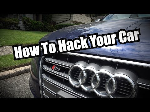 Manipulating Hidden Features on an Audi for $100
