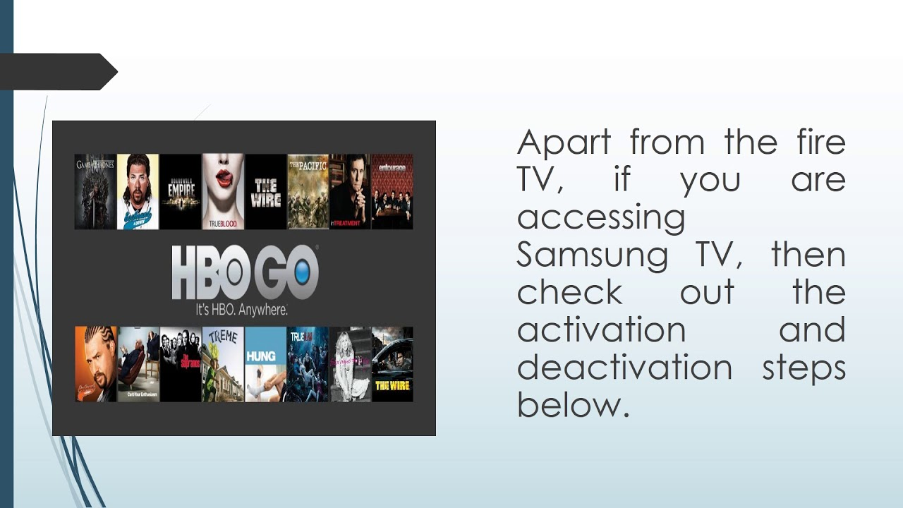 HBO Go not working on Samsung TV | MacRumors Forums