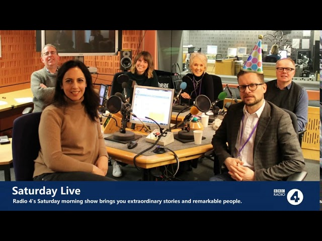 INTERVIEW WITH SATURDAY LIVE ON BBC RADIO 4