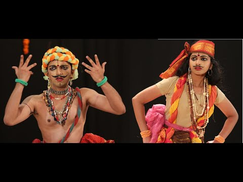 Jatin & Shruthi - Excerpts of Kutrala Kuravanji Performance 2012