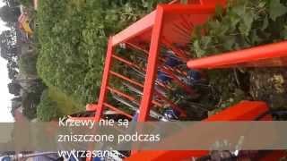 KOMBAJN DO PORZECZEK Marek Currant Harvester, rapsberry harvester