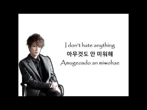 RUN AWAY - KIM JAEJOONG [Eng | Han | Rom Lyrics]