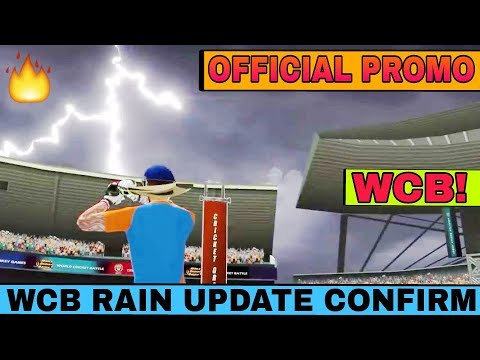 world cricket battle official new promo rain interrupt ☔ feature confirm release date🔥 with proof