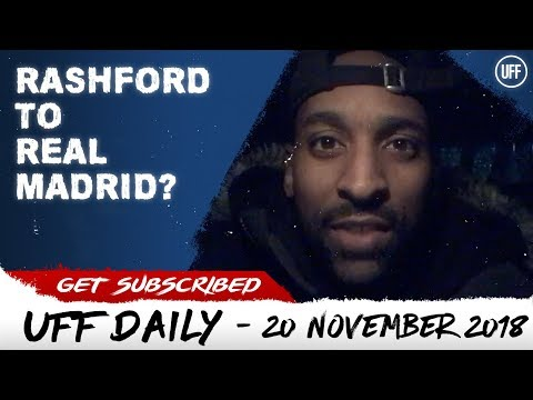 REAL MADRID TO PURSUE RASHFORD!? | UFF Daily thumbnail