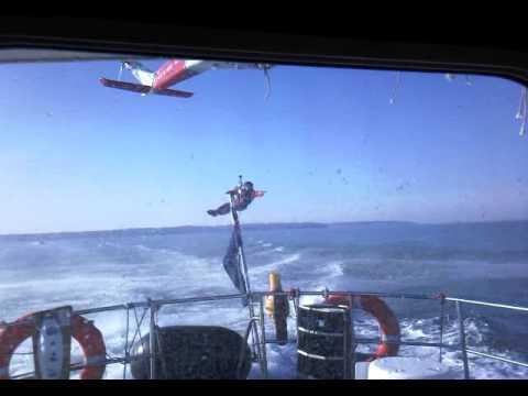 HMS Bristol 08 - Coast Guard practice part 1
