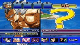 Dragon Ball Z Budokai Tenkaichi 3 - Vegeta Migatte no Gokui Perfecto VS MODS ALEARTORIOS #16 PS2