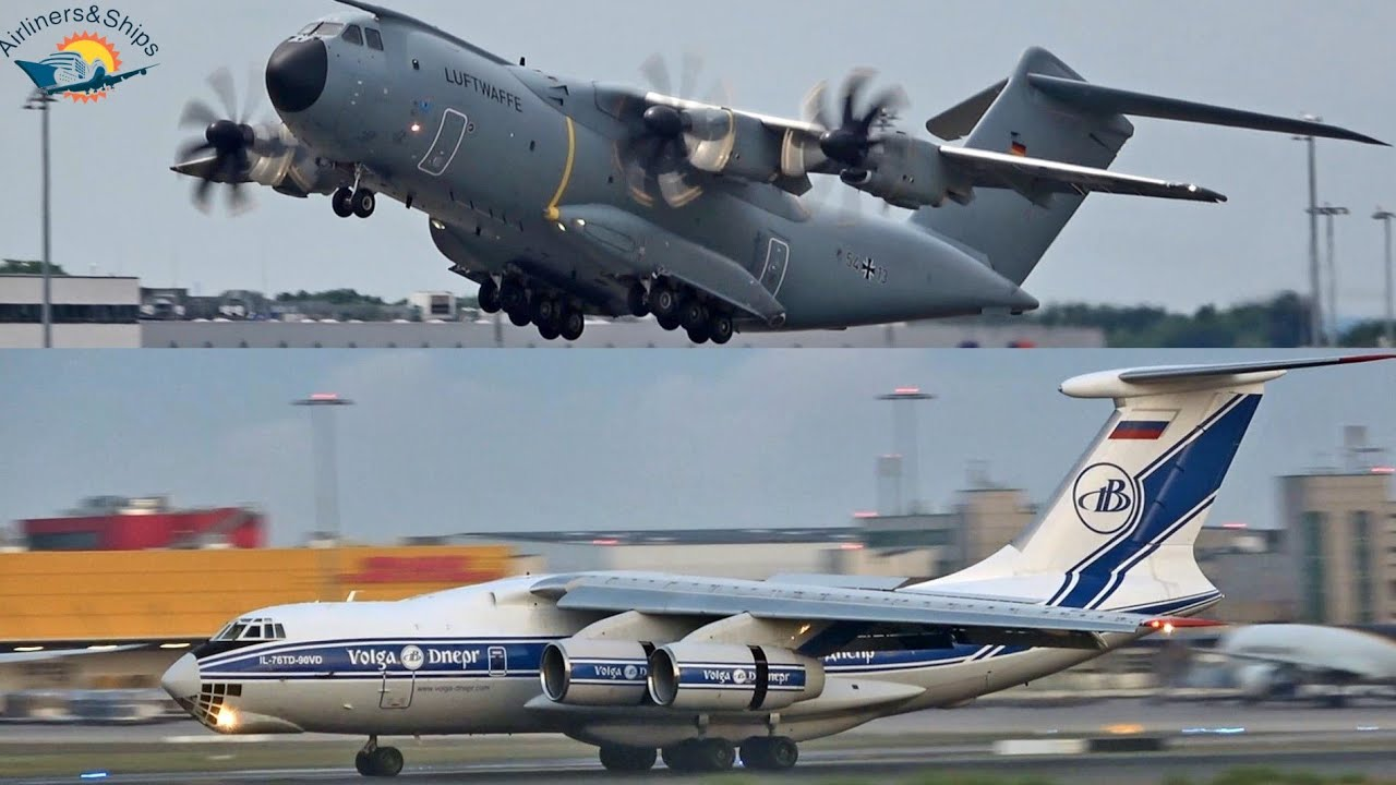 COLOGNE Airport Planespotting June 2021 with RARE ILYUSHIN IL-76 and Belgian Airbus A400