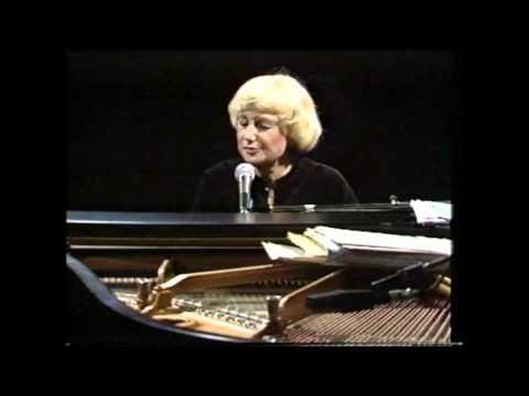 Blossom Dearie - My Attorney Bernie, Live Jazzclub Fasching, Stockholm