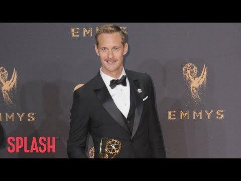 Alexander Skarsgård Praises Female Influencers in Emmys Win Speech | Splash TV