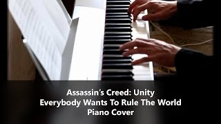 Lorde - Everybody Wants To Rule The World - Piano Cover  (Assassin