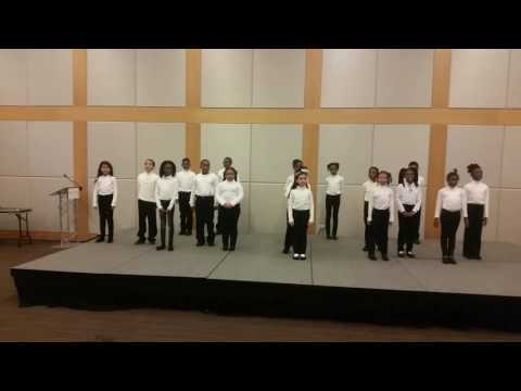 My first performance at Gray Charter School