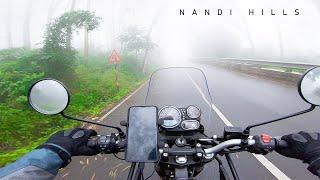 Ride to Nandi Hills  Royal Enfield Himalayan BS6