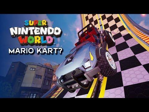 New Ride System Looks Like Mario Kart For Super Nintendo World - ParksNews