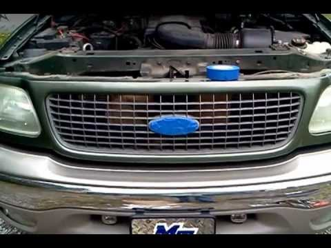 painting ford expedition grill 2 3 youtube. Black Bedroom Furniture Sets. Home Design Ideas